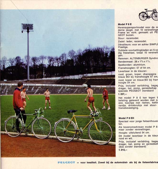 everyday bike scenes from the '60s