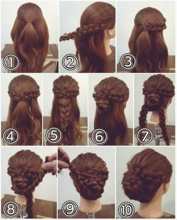 hairstyles long hair prom