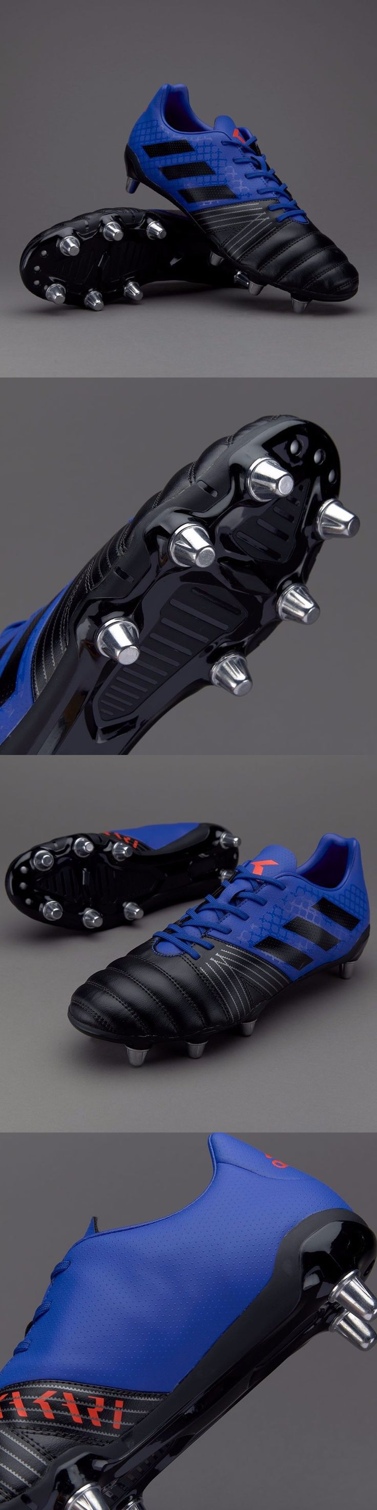 Rugby 21563: Adidas Kakari Sg Rugby Boots - Royal Black - 12.5 Us Adult New Tags Box -> BUY IT NOW ONLY: $79.99 on eBay!