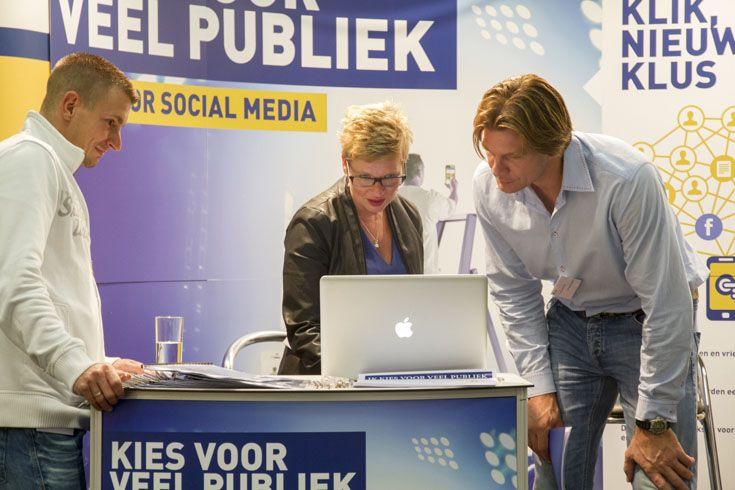 In de NOA-stand leerden ondernemers hoe ze social media succesvol in kunnen zetten om méér werk te genereren.