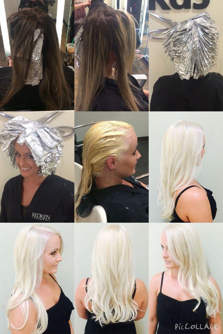 Olaplex. Blonde. Platinum. Before/after. Want!