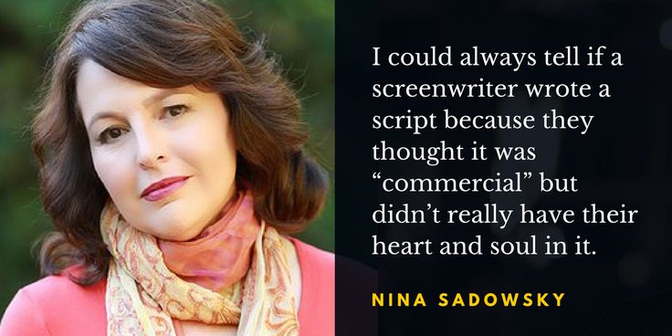 Screenwriter and novelist Nina R. Sadowsky shares screenwriting techniques that have influenced her novel writing, and writers can learn from the screen.