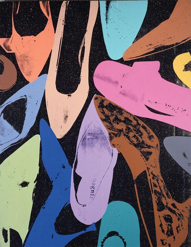 """Diamond Dust Shoes"", 1980. Andy Warhol."