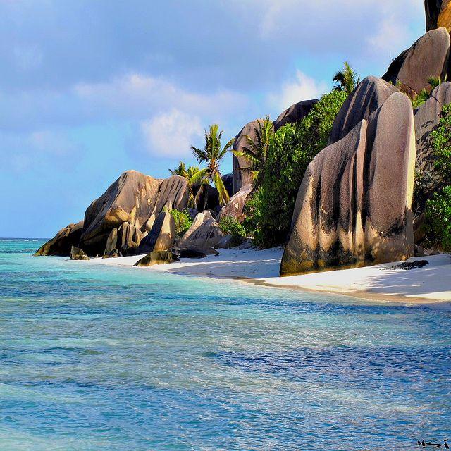 Seychelles Beach: La Digue, Seychelles