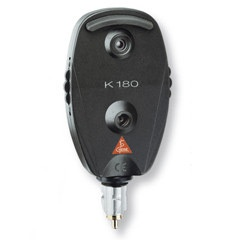 Heine K180 Ophthalmoscope 2.5V - Standard direct ophthalmoscope  A full featured instrument at an economical price.