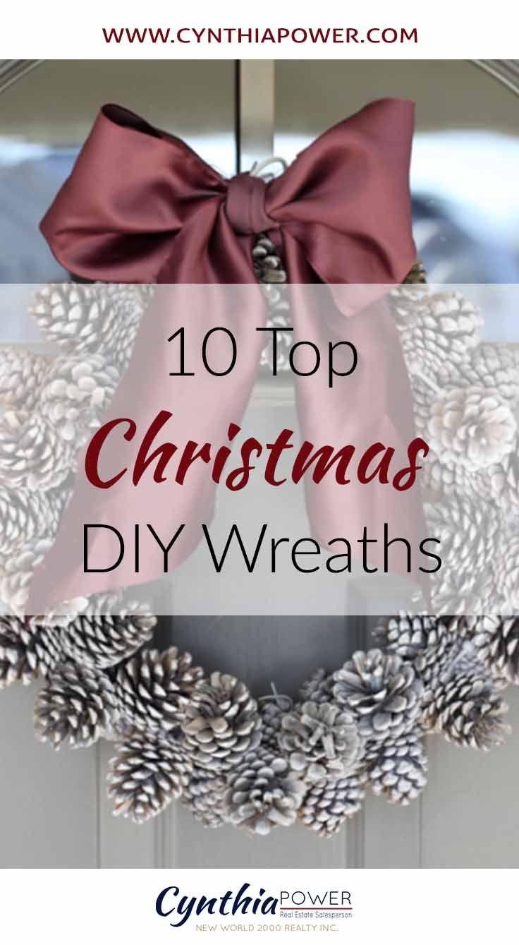 Top 10 DIY Christmas Wreaths