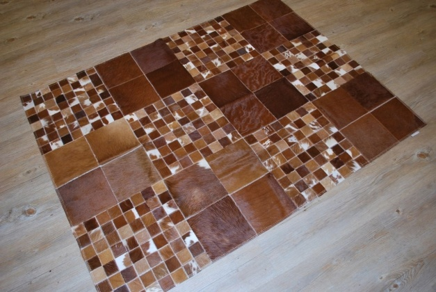 Patchwork cowhide rug toronto