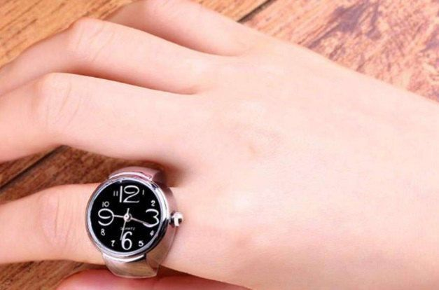 Finger ring watch, elastic finger ring watch, women watch by pacforme on Etsy