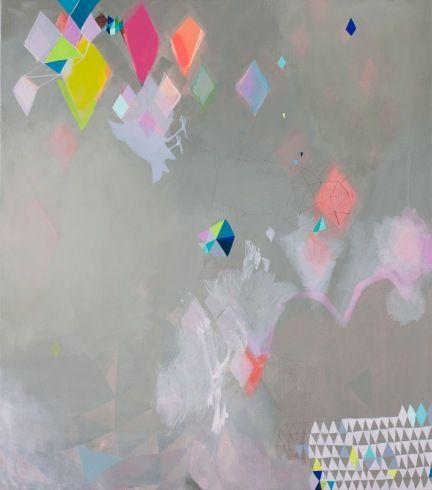Miranda Skoczek: Miranda Jumper, 3D Character, Geometric Art, Mirandaskoczek, Color, Diamonds, Kites, Colour Palettes, Painting