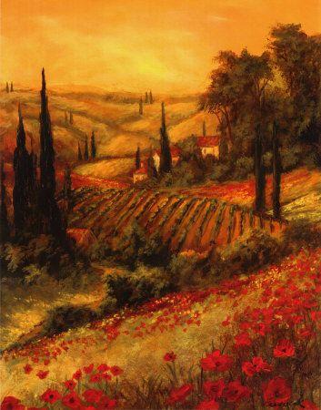 Tuscany Art | Tuscany Art Print