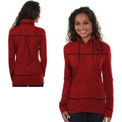 * NHL Rinkside Chicago Blackhawks Women's Wrapture Full-Zip Sweatshirt