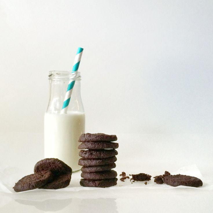 Double chocolate cookies  ganz viel Schoggi --> Rezept auf www.lalasophie.blogspot.ch