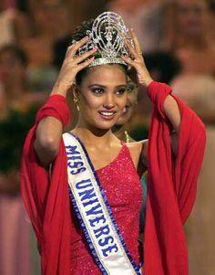 Lara Dutta...Miss Universe 2000 from India
