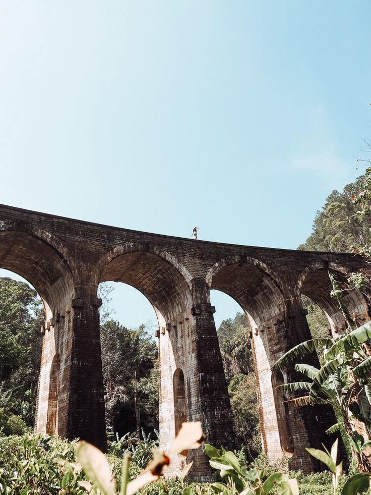 The Nine Arch Bridge in Sri Lanka.  Wanderlust  Instagram: small.Lena