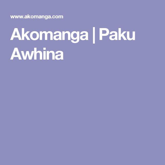 Akomanga | Paku Awhina