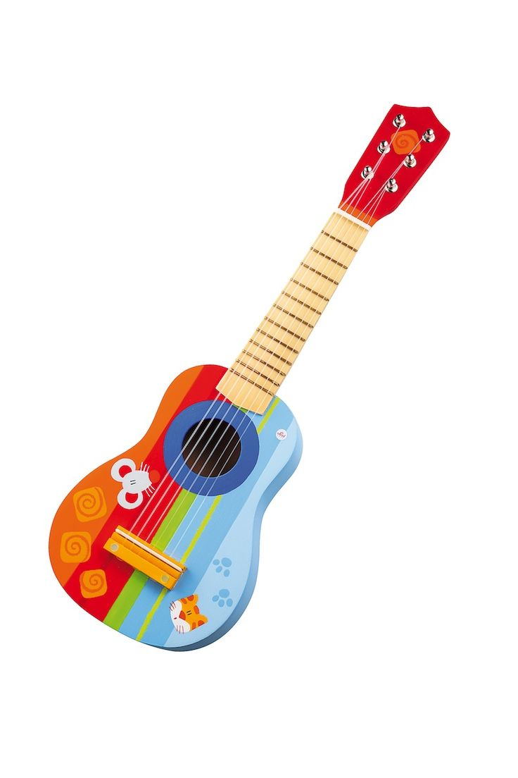 Advent Calendar promotion on Day 16: Today we reveal this beautifully designed toy guitar by Sevi that can even be tuned! Made from top quality wood and decorated with a charming animal design, this guitar is built to last!  Your child will have hours of fun creating their own sounds and songs! 10% off!