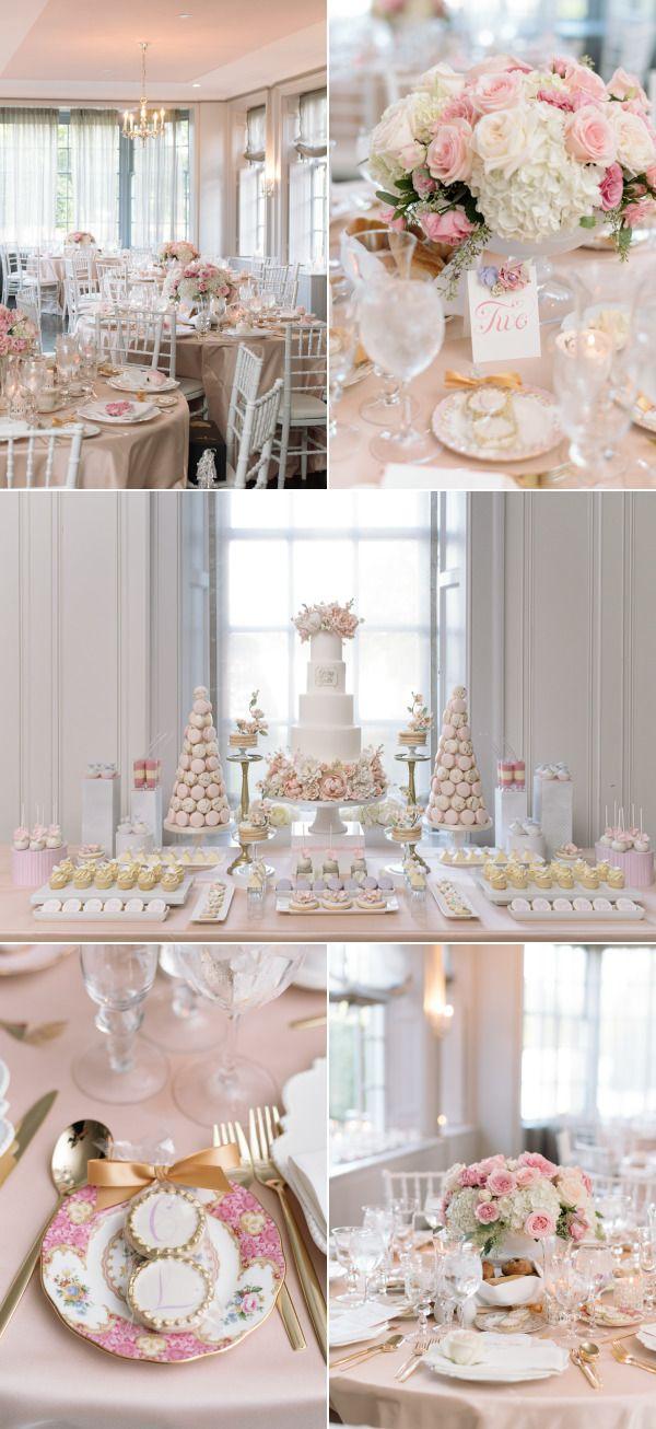 ce21e6d0d9a Pretty In Pink Romantic Garden-Inspired Fall Wedding