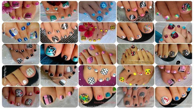 25 Toenail Art Designs Compilation ♥