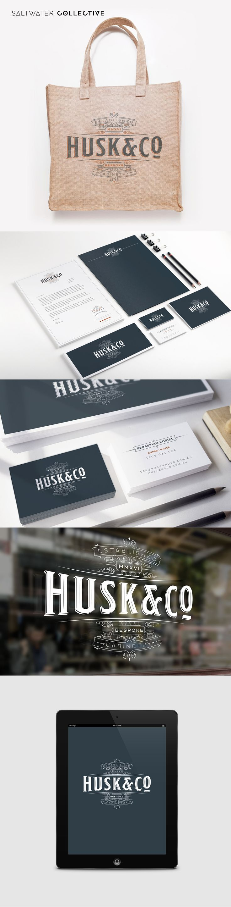 New brand creation for Husk and Co #DesignedBySWC