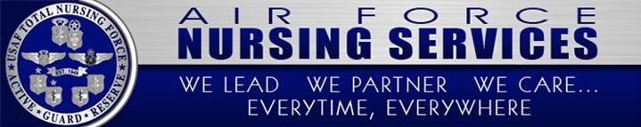 Air Force Nursing Bumper Sticker