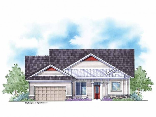 country house plan with 1644 square feet and 3 bedroomss from dream home