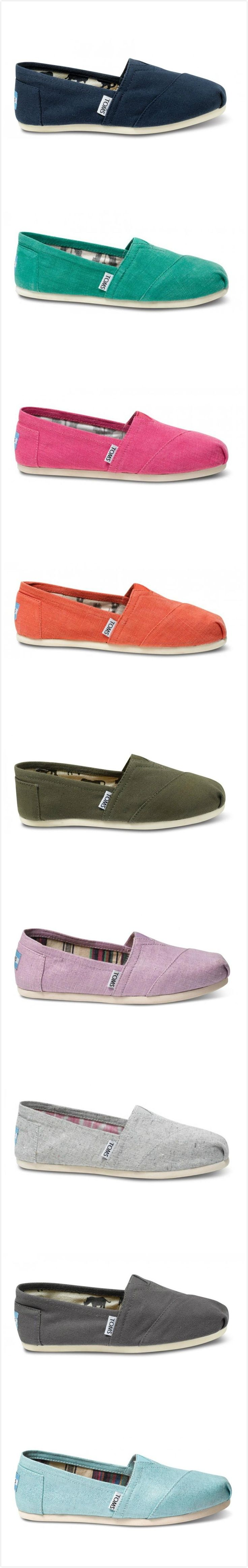 TOMS Shoes Outlet...$19.99! Same company, lots of sizes! Must remember this!