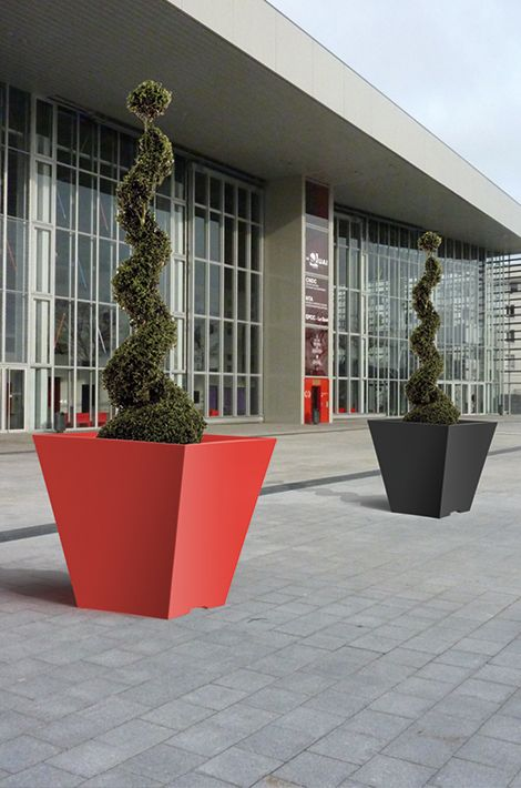 modern french flower pots Atech at www.atech-pl.eu