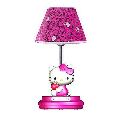 Hello Kitty Table Lamp- Magenta