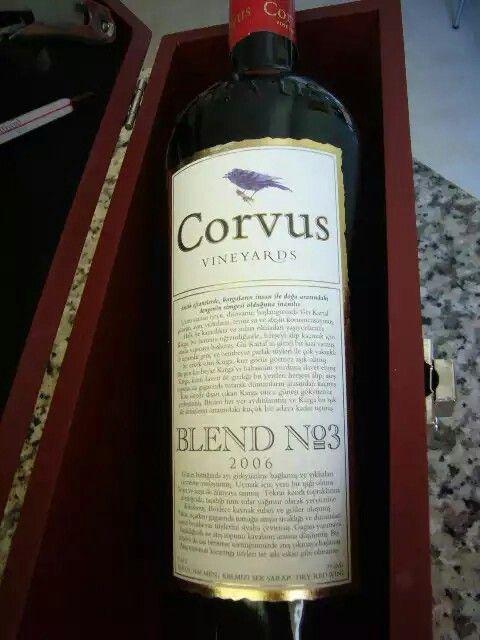 CORVUS Blend No:3 - Turkish Wine