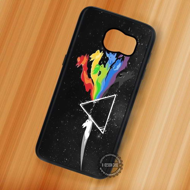 Evo Pokemon Pink Floyd Eve Evolution - Samsung Galaxy S7 S6 S5 Note 7 Cases & Covers