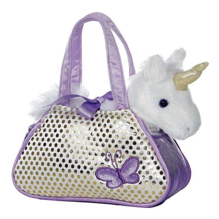 Fancy Pals - Unicorn Pet Carrier 7in