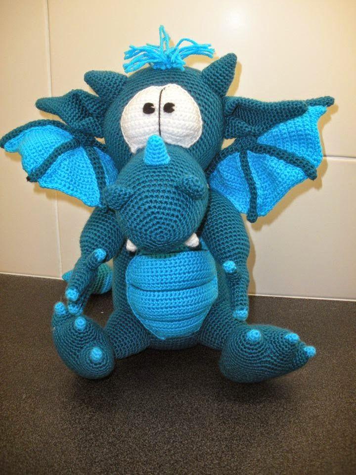 Anne's Crochet Palace: Dragon
