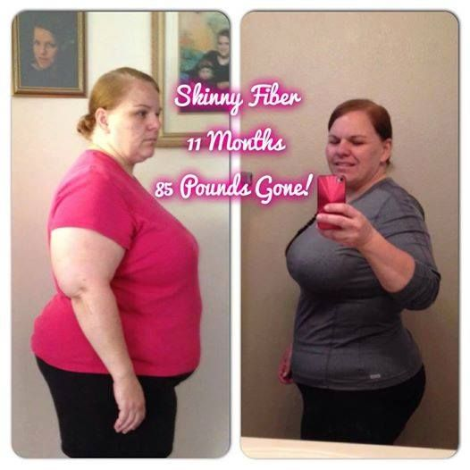 fiber and weight loss results