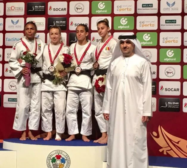 MAZAL TOV!Israeli judoka🥋Tal Flicker won 66kg gold at the Abu Dhabi Grand Slam judo tournament, but was forced to celebrate his victory under the International Judo Federation's flag due to a b…