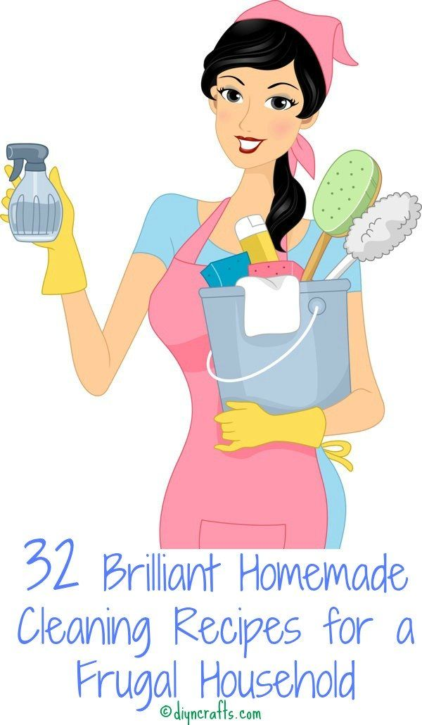32 Brilliant Homemade Cleaning Recipes for a Frugal Household – Page 3 of...