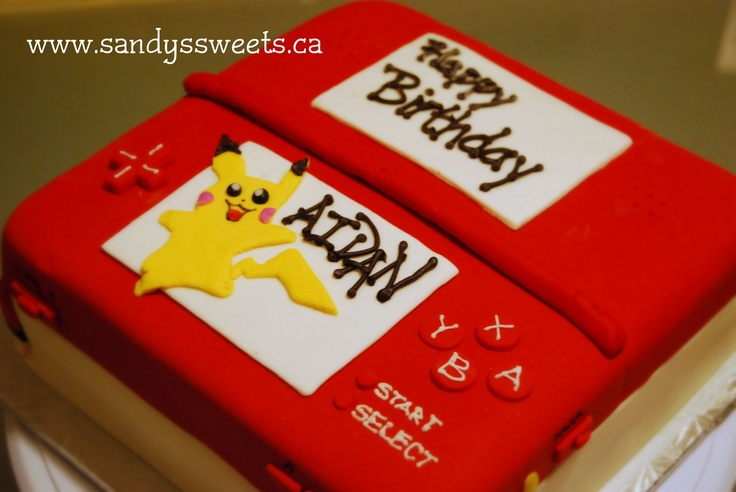 Just gotta find a bakery nearby!!  Nintendo DS - Pikachu Cake