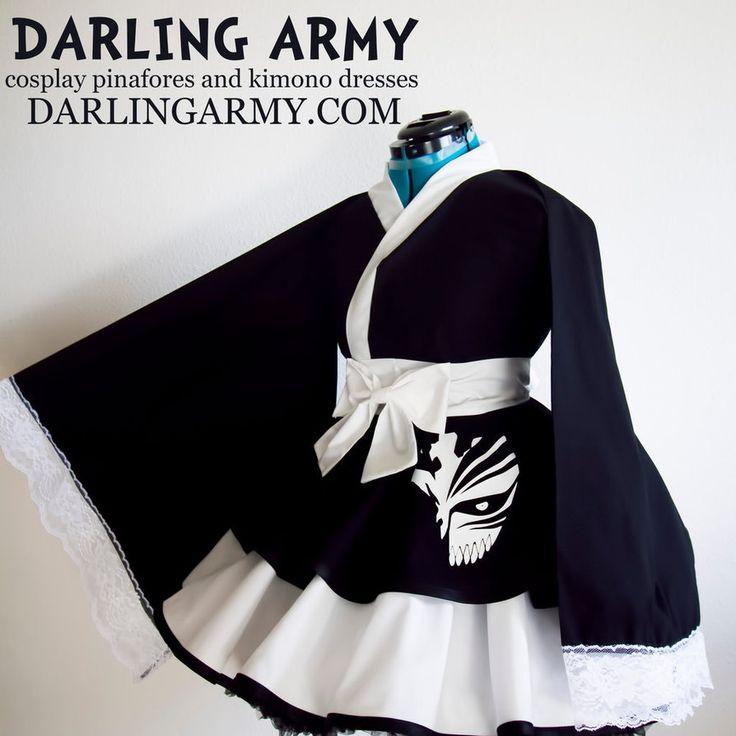 Ichigo Bankai Bleach Cosplay Kimono Dress by DarlingArmy ...
