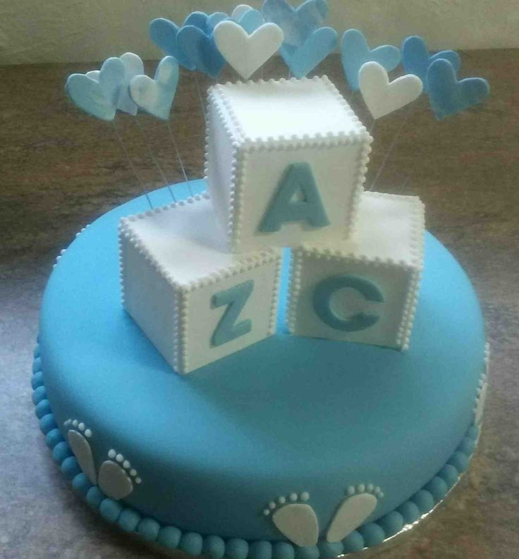 Carrots cake for little Zac's christening
