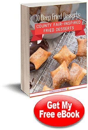 10 Deep Fried Desserts eCookbook