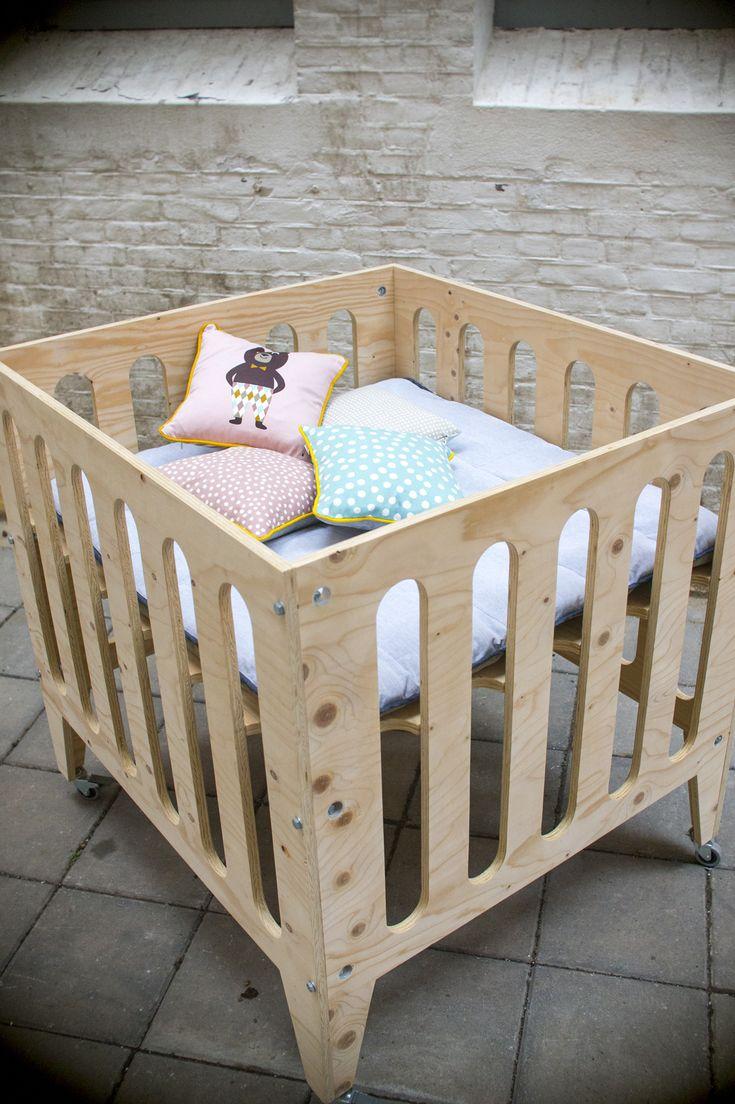 box, kinderbox, underlayment, fins vuren plywood, baby, kids furniture_90x98cm