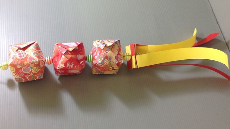 Origami Tanabata Streamer Decoration Make Your Own
