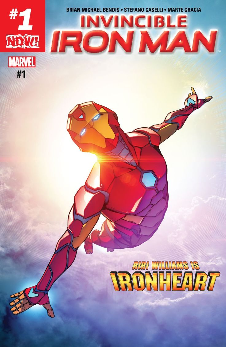 Invincible Iron Man (2016-) #1 Written by: Brian Michael Bendis Art by: Stefano Caselli 11/08/2016