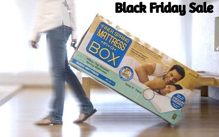 Mattress In A Box Black Friday 2020 Deals Grab Best Mattresses At Cheapest Price Memory Foam Mattress Mattress Foam Mattress