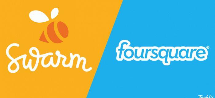 Swarm de Foursquare, qué es y cómo funciona