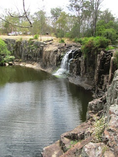 Tooloom Falls: you can camp right at the top or swim at the base