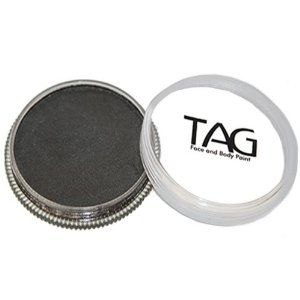 TAG Face Paints - Pearl Black (32 gm) by TAG Body Art. $7.65. Great for line work. TAG Pearl Face Paint is a little softer than TAGs regular paints and contain Mica for a metallic sheen. TAG Pearl Face Paint does not contain any metal.. Each 32 gram TAG Face Paint Container is good for 50-200 applications.. TAG Face Paint is very easy to blend, soft on the skin and does not crack or peel.. TAG face paint is hypoallergenic and made with non-toxic, skin safe ingredients.. TAG Pe...