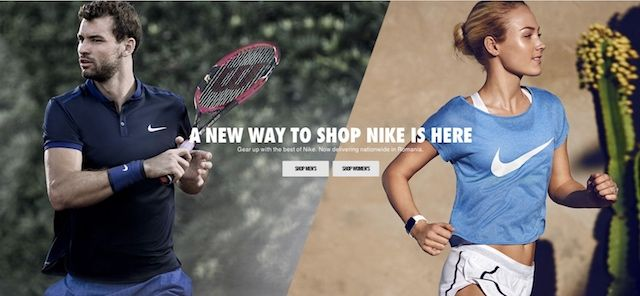 Gata de cumparaturi? Nike.com s-a deschis oficial si in Romania si livreaza gratuit oriunde in tara