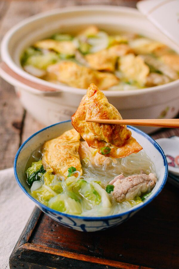 Egg Dumplings A Chinese New Year Must Have 蛋饺 The Woks Of Life Recipe Egg Dumplings Food Cooking Chinese Food