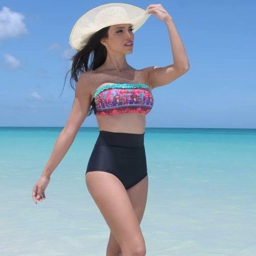 f0e5a6e1dbb3 Bikinis Mallas- Solo Bombacha Pin Up Culote Tiro Alto Mujer - $ 500 ...