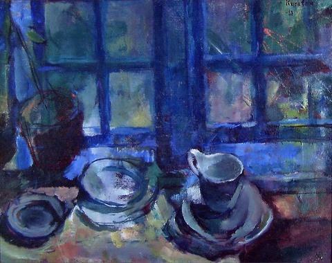 Ludvig Karsten, Det blå kjøkken